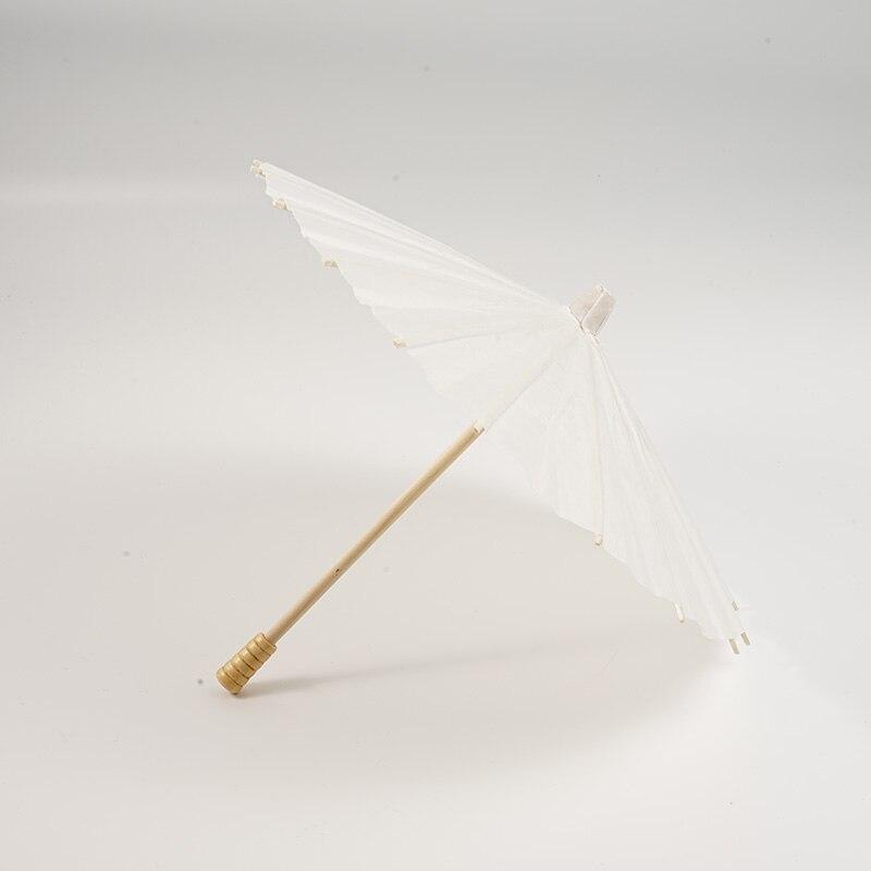 4 Typ Chinesischen Stil Papier Dach Traditionelle Weiße Leere Sonnenschirm Für Kinder Malerei Zeichnung Diy Handwerk Bildung Weihnachten Spielzeug Einen Einzigartigen Nationalen Stil Haben