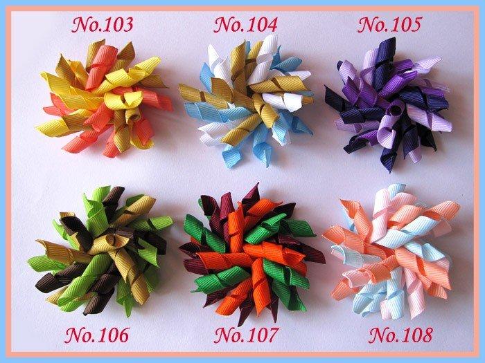 60 шт. 2,5 ''предмет гордости бантики(шить) Разноцветные девушка волосы бантики, аксессуары для волос