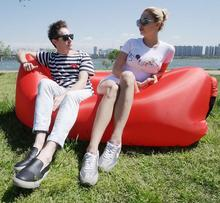 two seat durable bean bag chair, air inflatable beanbag sofa cushion, fast instantly outdoor sofa , sleeping sac,picnic bag