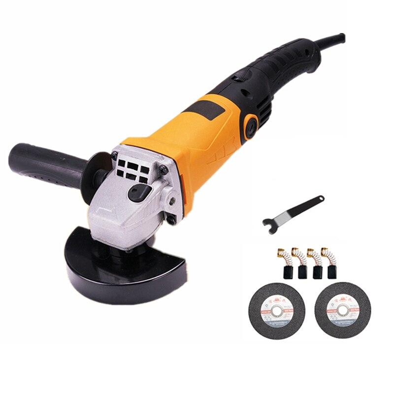 цена на 220v multifunctional electric angle grinder 6 level speed adjustment long handle metal sheet cutting combo 1 polishing grinding