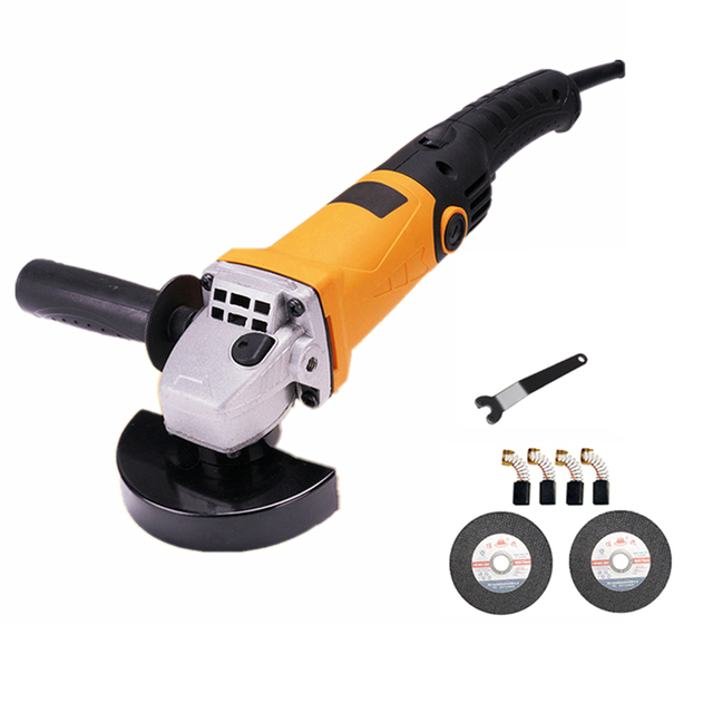 220v multifunctional electric angle grinder 6 level speed adjustment long handle metal sheet cutting combo 1 polishing grinding