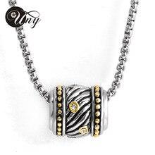 Estilo OL con cuentas collares moda Vintage de la marca señora de la joyería de cristal collar chapado en oro
