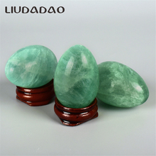 Natural Jade Kegel Exerciser Yoni Eggs Green Fluorite Undrilled Eggs Stone Ball Muscle Tightening Vaginal Body Relax Care Eggs maisto машинка scramblin eggs