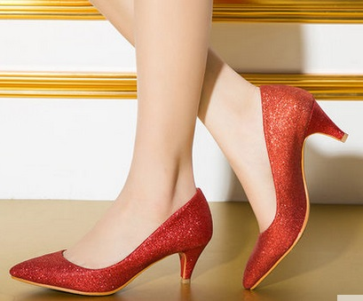 ФОТО Spring high thin heels pointed toe shoes small yards 31 32 33 plus size 40 41 42 43 free shipping