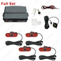 Auto Original Style 4PCS Sensors Car Reverse Backup Beep Alarm Radar Parking Sensor  #CA1357