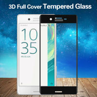 Mobile Phone Accessories 3D Tempered Glass For Sony Xperia X XP Screen Protector For X Perfermance