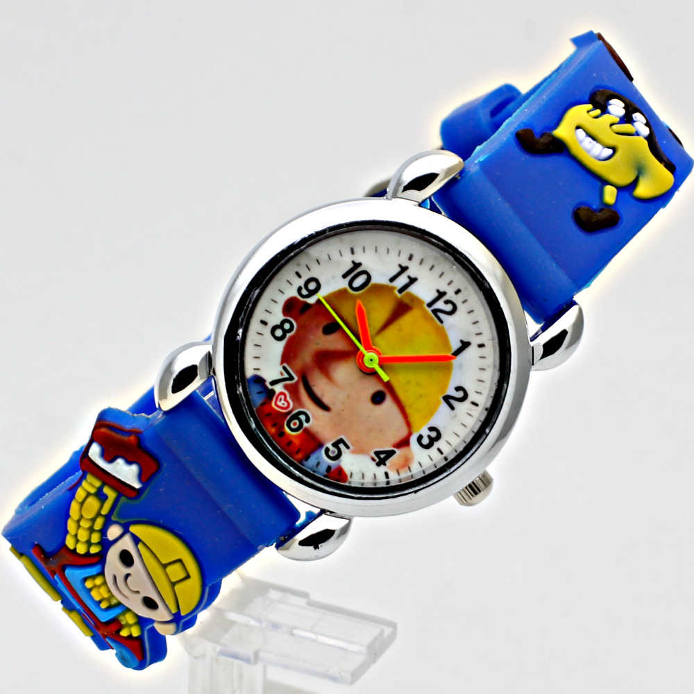 Fashion 3D Child Watch Silicon Cartoon Børn Sport Watch Boy Quartz - Børneure - Foto 4