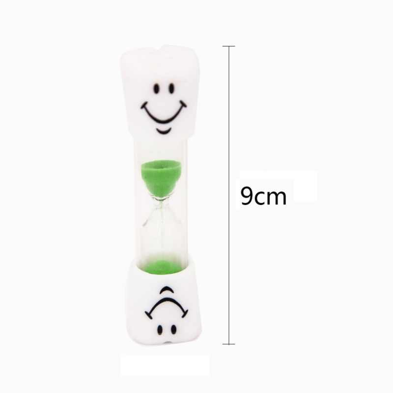 Portable Home Kitchen Cooking Timer Cartoon Smiling Face Hourglass Sand  Clock Timer 3 Minutes Timer For Tea/Cafe