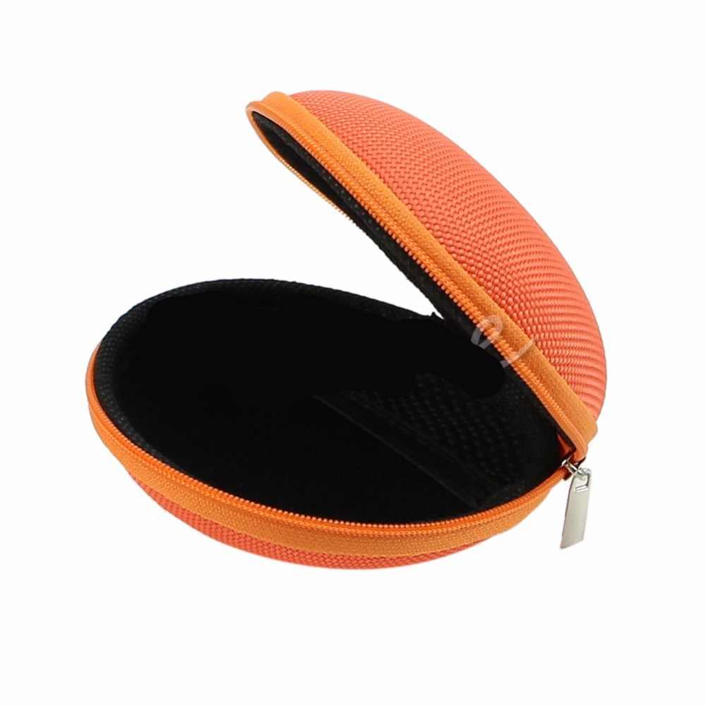 Mini Zipper Bag EVA Watch Earphones Pocket Boxes Storage Case USB Cable Watch Pouch