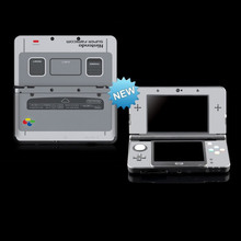 Vinyl Cover Decal Skin Sticker for Limited Machine NEW 3DS skins Stickers For New Nintendo 3DS SFC Vinyl Skin Sticker Protector