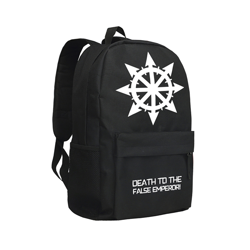 Warhammer 40K Dawn of War II Backpack Children Schoolbag Teenagers Daypack