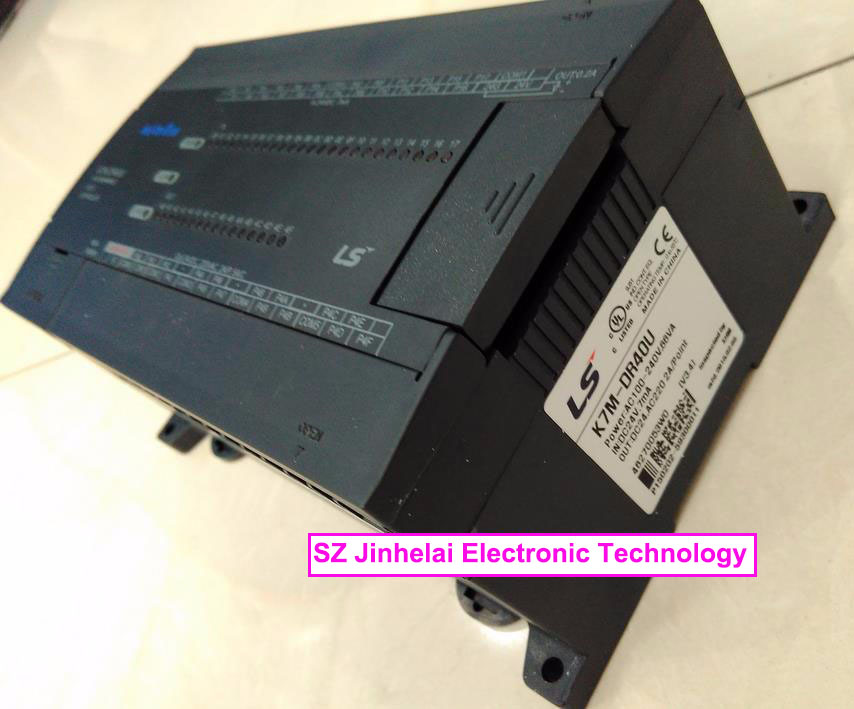100% New and original K7M-DR40U  LS(LG) plc controller 100% new and original g6i d22a ls lg plc input module