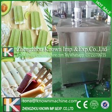 Engineer service Japan compressor air cooling ice lolly machine line price with 2 moulds shipping by