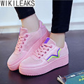 Wikileaks 2016 Women Casual Breathable Shoes Woman Flat With Air Mesh High Quality Student Shoes Zapatillas Deportivas Mujer