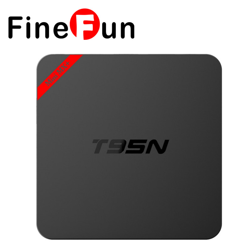 ФОТО FineFun T95N Mini M8S Pro Android 5.1 TV Box S905 Quad Core Bluetooth Wifi 16.0 2G DRR3 8G Smart Set top Box HDD player