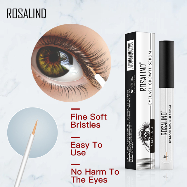 ROSALIND Eyelash Enhancer Lamination Growth Eyelash Serum Professional Longer Eyebrows Enhancer Natural Eye Makeup Lash Lift 2