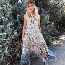 ecf1a3efec218 Popular Bohemian Peacock Maxi Dress-Buy Cheap Bohemian Peacock Maxi ...