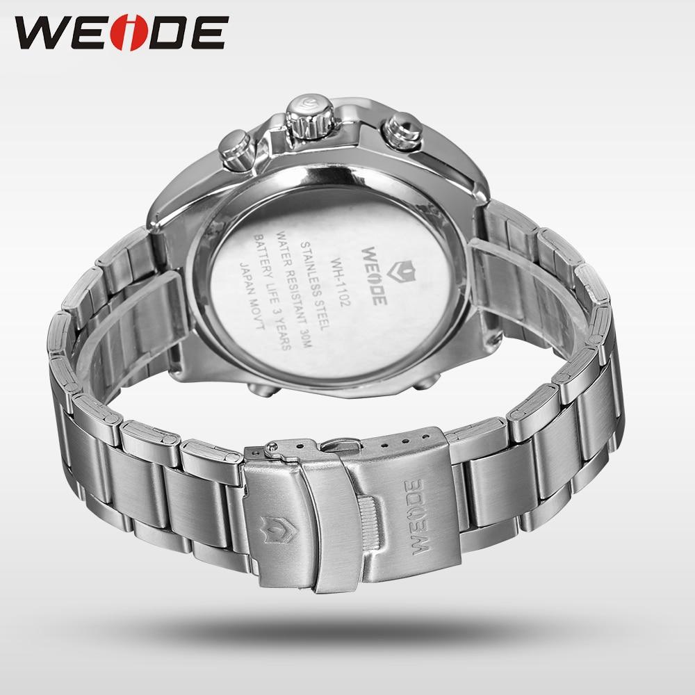 WEIDE Fashion Casual Luxury Klockor Män Luxury Luxury Quartz Watch - Herrklockor - Foto 6