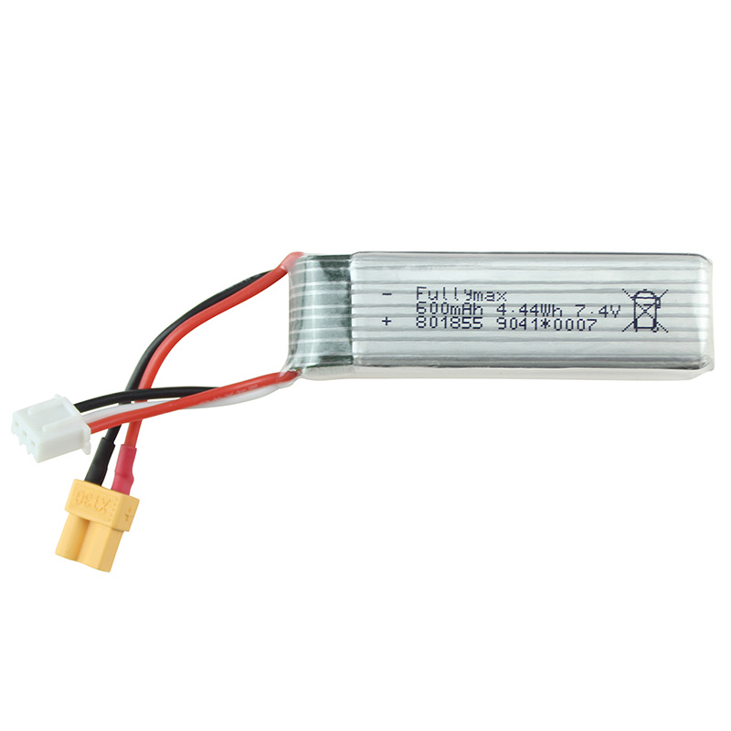 <font><b>7.4V</b></font> <font><b>600Mah</b></font> <font><b>Lipo</b></font> <font><b>Battery</b></font> For Xk K130 Rc Helicopter Spare Parts Accessories Xk K130 <font><b>Battery</b></font> image