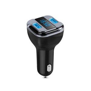 Image 1 - Localizador de gps do carro rastreador inteligente carregador de carro rápido veículo rastreador gps posicionamento display led tela abs + pc suporte consulta por aplicativo