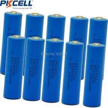10 adet 3.6 V ER14505 14505 2400 mah AA LiSCLO2 Pil Üstün LR6 R6P 1.5 V Piller GPS Izleme Için kameralar Hafıza yedekleme