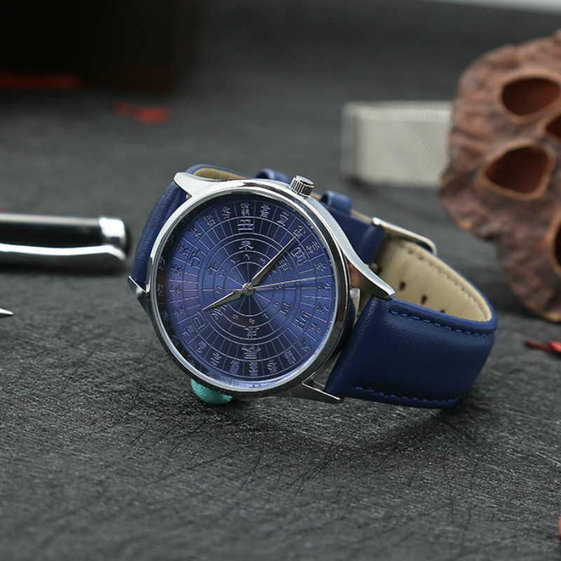 Chinese Traditional Culture Quartz Watch Men 24 Solar Terms Unique Leather Watches Forbidden City Original Gift Foreign StudentsChinese Traditional Culture Quartz Watch Men 24 Solar Terms Unique Leather Watches Forbidden City Original Gift Foreign Students