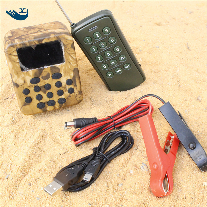 Outdoor Hunting Decoy Speaker Sand Prevention Radiator Hunting Mp3 Bird Caller Mp3 Sound Player  Bird Caller With Remote Control cheap mp3 player desert animal decoy bird caller 390 with portable speaker with handle