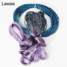 Lawaia Fishing Multifilament Gill Purple Sticky Net 30m Mesh About 3cm/4cm Casting Fish Float Gear Tools