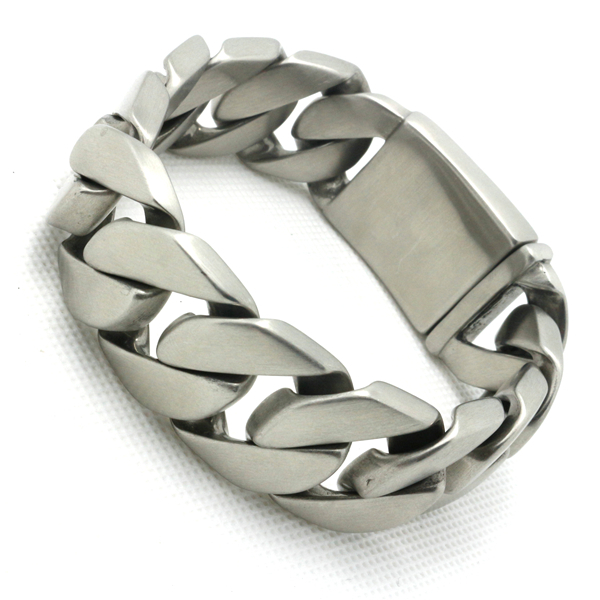 Mens Boys 316L Stainless Steel Cool Dull Polishing Newest
