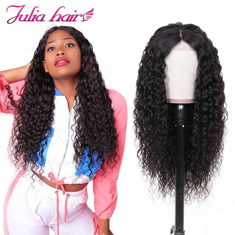 Ali Julia Hair 13x4 13x6 Lace Front Wig 150 130 Density Brazilian Water Wave Lace Front