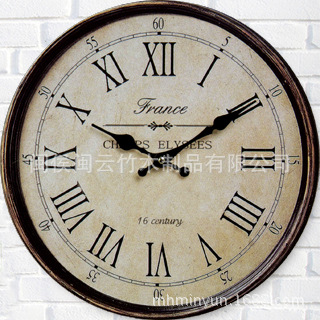 online shop vintage wall clock wencco weike fashion color round digital wall clock bedroom living room silent clock retro cl aliexpress