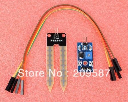 10 PCS sol la hygromètre module de détection du capteur d'humidité du sol Pour Arduino Robot voiture intelligente Pour UNO Mega 2560. Mega 1280 328