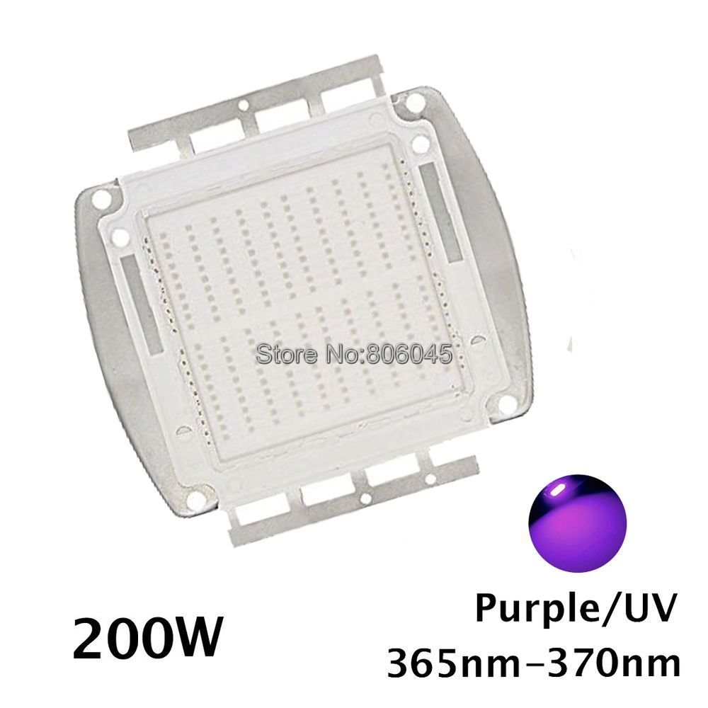 EPILEDs 42Mil 200W High Power UV Ultra Violet Light Chip, 365nm-370NM,380nm-385nm,395nm-400nm,420nm-425nm LED Light Source 20w high power led uv ultra violet purple light chip 365nm 370nm 380nm 385nm 395nm 400nm 420nm 425nm led light source epileds