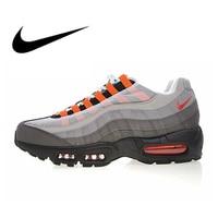 Nike Оригинальные кроссовки AIR MAX 95 OG QS Мужская Беговая спортивная обувь уличные дышащие кроссовки спортивная Дизайнерская обувь 810374 078