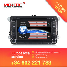 Фабричная цена, автомобильный dvd-плеер для VW/Volkswagen/SAGITAR/JATTA/POLO/BORA/GOLF V навигации с 3g хост gps BT радио бесплатные карты