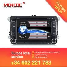 Prezzo di fabbrica Car DVD Player Per VW/Volkswagen/SAGITAR/JATTA/POLO/BORA/GOLF V mappe di navigazione Con 3G Host GPS BT della Radio di Trasporto