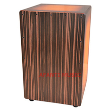 Afanti Music Basswood / Rosewood / Birch Wood / Natural Cajon Drum (KHG-176)