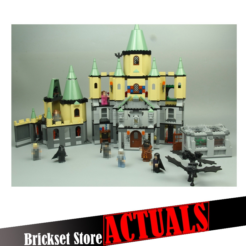LEPIN 16029 Hogwarts Castle Classic Movie Building Block Bricks Toys Enlighten For Boy oyuncak 1033PCS Compatible legoINGly 5378 china brand 16029 educational bricks toys diy building blocks compatible with lego hogwarts castle 5378