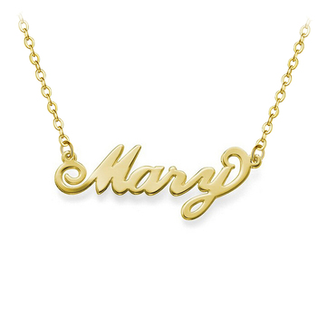Senfai Custom Pendant Name Necklace Pendant Stainless Steel Personalized Nameplate Necklaces Choker Jewelry Necklaces for Women custom necklace heart pendant stainless steel gold chain personalized name necklaces choker jewelry necklaces for women dropship