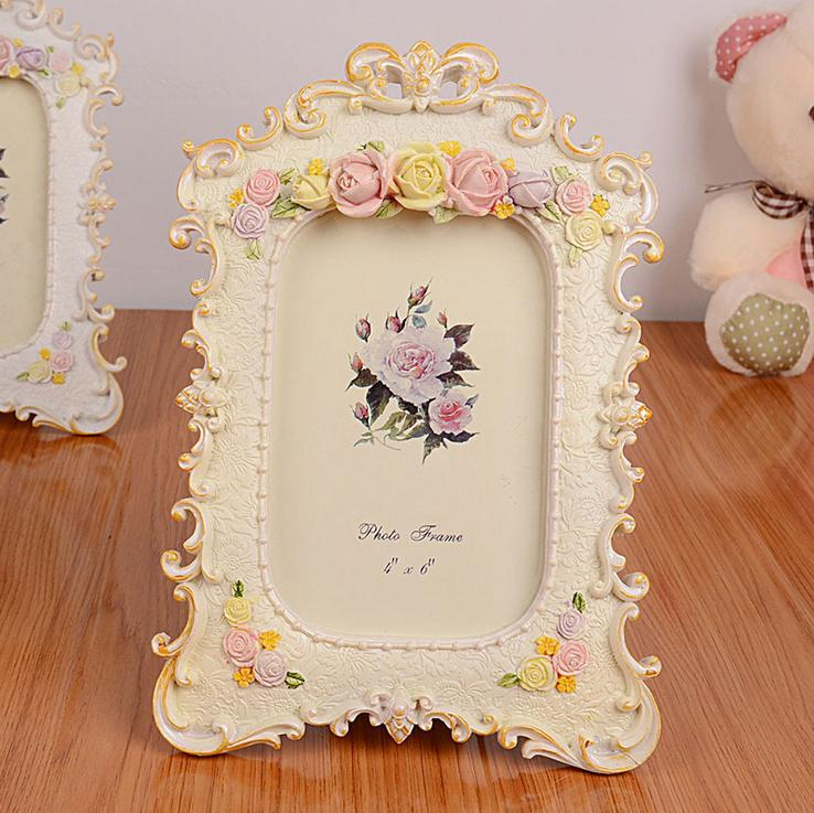 european style photo frame three dimensional small frame home room ornaments picture frame house