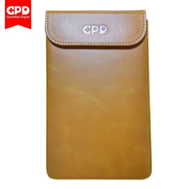 Новый оригинальный защита кожаный чехол сумка для gpd карман 7 дюймов мини-ноутбук UMPC Оконные рамы 10 Системы (коричневый)