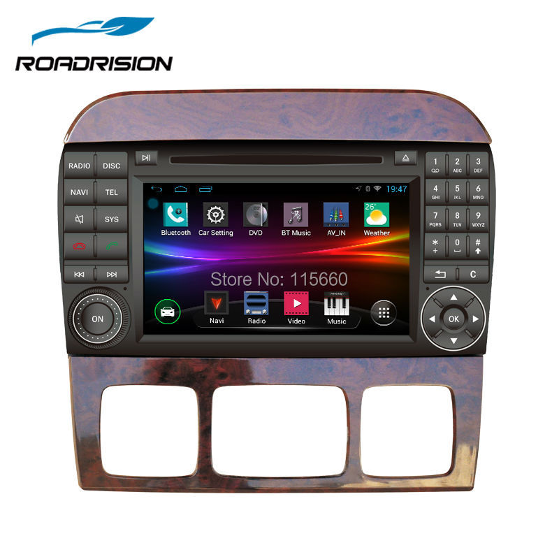 Roadrision 2din 7 39 39 android 4 4 4 car dvd player for for Mercedes benz app for android