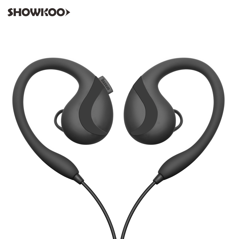 Showkoo New Arrival 2018 Auriculares Bluetooth Handsfree Earphone Bass Headphones for Running Wireless Headset Sport Ecouteur remax 2 in1 mini bluetooth 4 0 headphones usb car charger dock wireless car headset bluetooth earphone for iphone 7 6s android