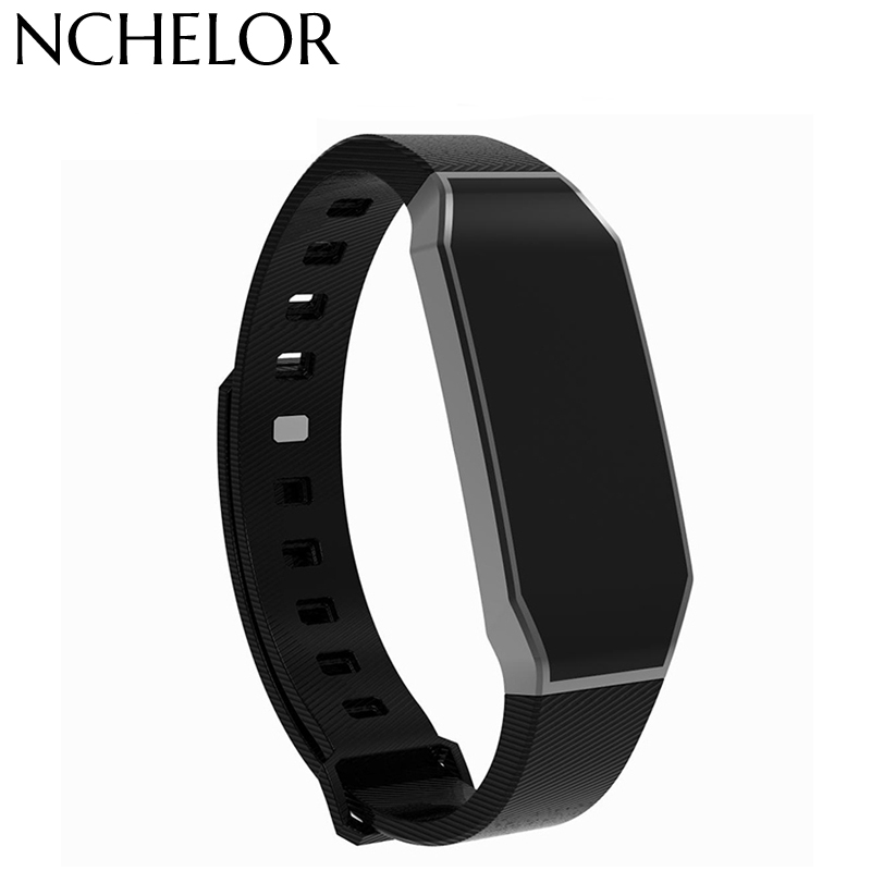 Women Men Smart Bracelet Watch Sport Waterproof blood pressure heart rate monitor blood oxygen Pedometer For Android IOS gimto sport smart bracelet watch outdoor clock waterproof stopwatch heart rate monitor blood pressure pedometer for ios android