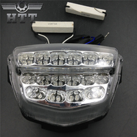 Aftermarket free shipping motorcycle parts LED Tail Brake Light for Honda 2008 2012 CBR 1000RR CBR1000RR RR Fireblade CLEAR