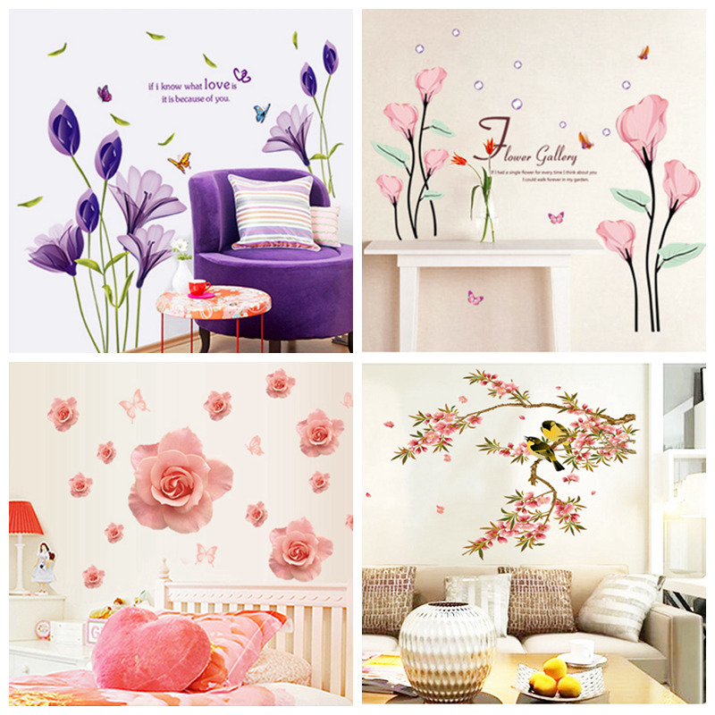 Zs Sticker AAAAA Modern wall sticker Plants wall sticker home decor