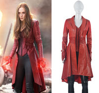 Captain America Civil War Costume Cosplay Scarlet Witch Uniform Halloween Party Costume for Adult Women