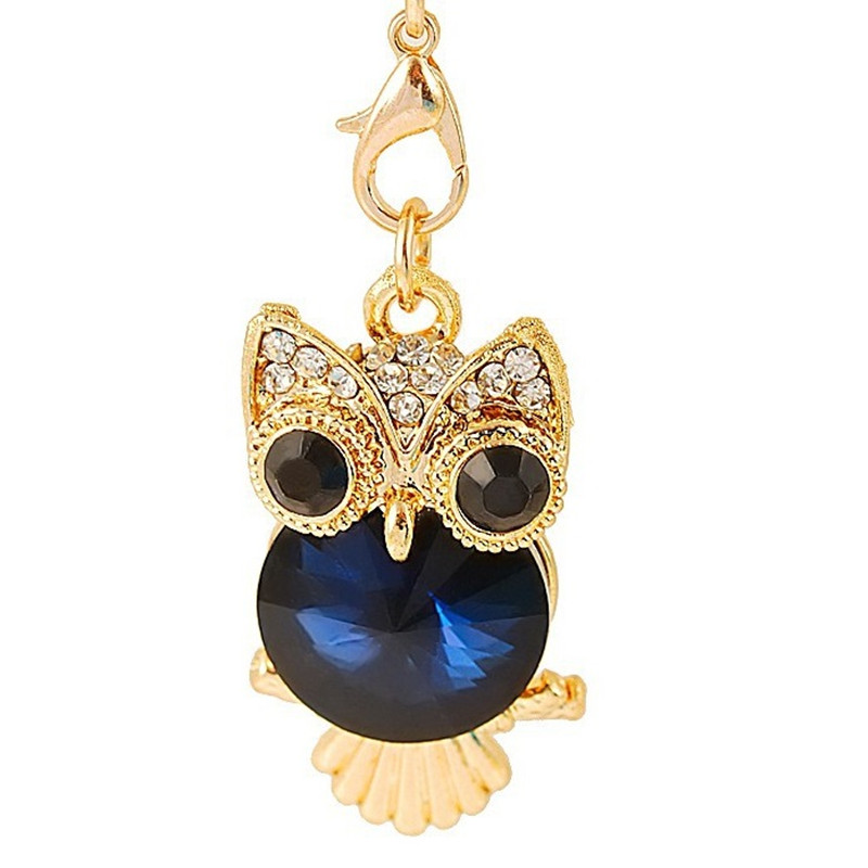 Cellphones & Telecommunications Cute Big Eyes Crystal Owl Telephone Mobile Phone Dust Plug Earphone Jack Plugs Suitable For All 3.5mm Headphone Plug Studs Phone Dust Plug