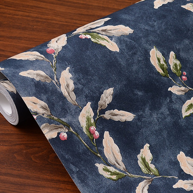 Купить с кэшбэком Garden Style Flowers Wallpaper Art Dappled Living Room Bedroom Background Wall Paper Roll