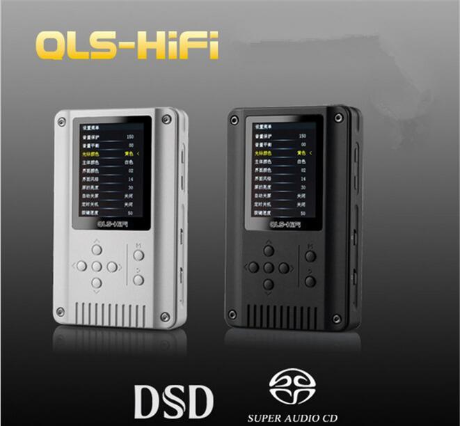 Authentic QLS QA360 / QA360 MOD HiFi 8-300 Ohm 24Bit / 192KHz DSD High Resolution Lossless Portable Digital Music Player MP3 aune x5s 24bit 192k hifi dsd asynchronous clock hifi digital player multi format digital player